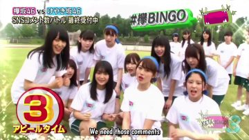 [EP10] KEYABINGO!3: Kanji vs. Hiragana Athletic Competition (English Sub)