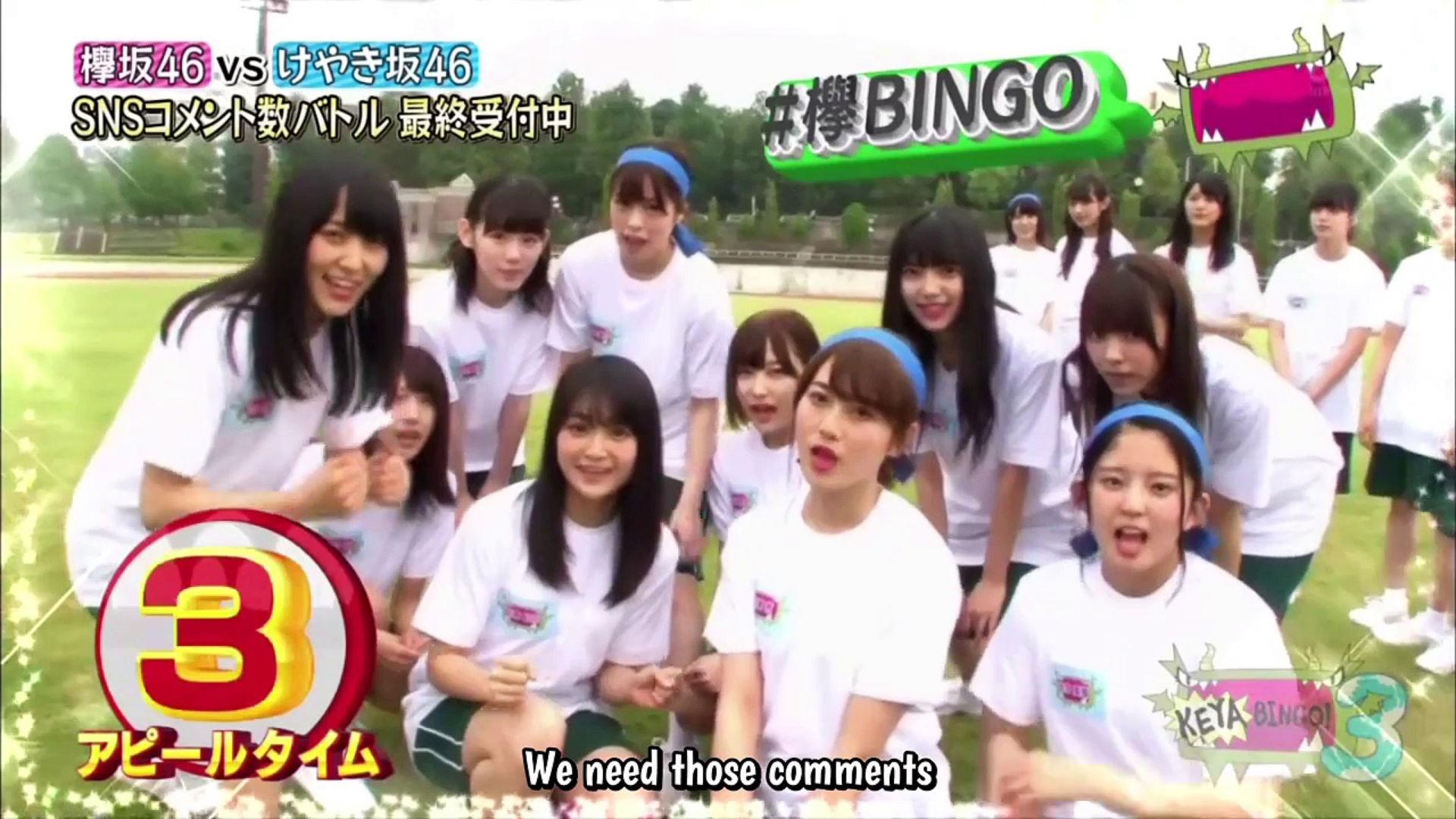 EP10] KEYABINGO!3: Kanji vs  Hiragana Athletic Competition
