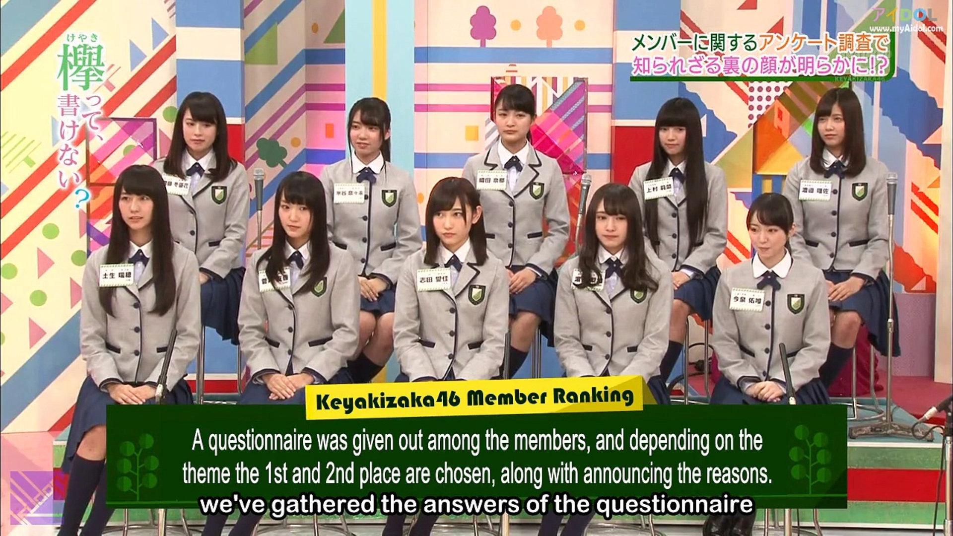 [EP17] Keyakitte, Kakenai?: What's the truth? Member Ranking (English Sub)