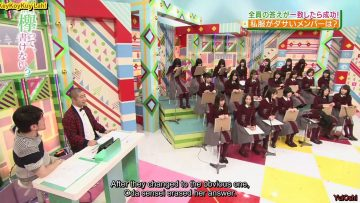 [EP66] Keyakitte, Kakenai?: New Year Presents – Teamwork Games Part 2 (English Sub)