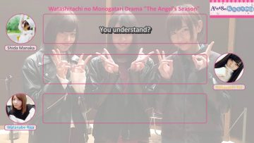 WataMono 2017.01.27: The Angel's Season (English Sub)