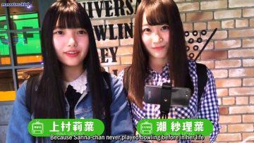 Uemura Rina x Ushio Sarina Selfie TV (English Sub)