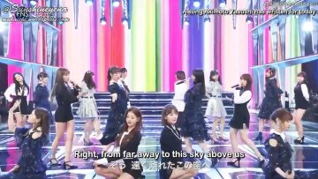 IZ4648 – Hitsuzensei @ FNS Music Festival Day 2 2018.12.12 (English Sub)