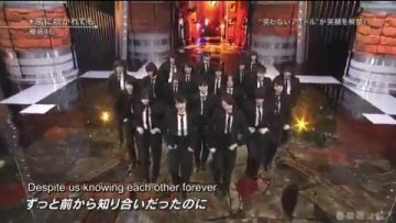 Kaze ni Fukarete mo @ Best Hits Song Festival 2017.11.15 (English Sub)