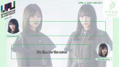 KeyaMimi 2020.4.4: Watanabe Rika and Watanabe Risa (English Sub)